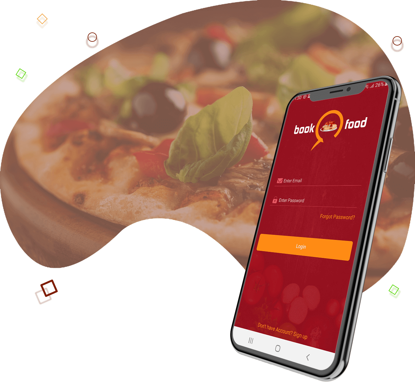 food delivery service app